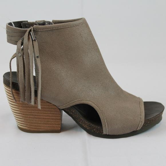 db763d594be OTBT Heeled Sandal Booties Open Toe Open Heel NEW NWT